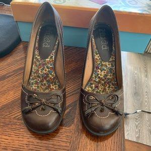 Mudd Brown High Heel Shoe